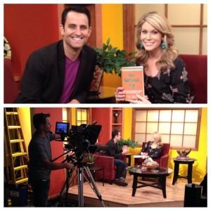 Paul Angone on the San Diego Living Morning Show